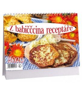 Table calendar Z babiččina receptáře 2020