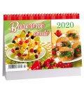 Table calendar Barevné chutě 2020