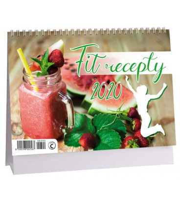 Table calendar Fit recepty 2020