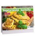 Table calendar Vegetariánská kuchařka 2020