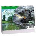 Table calendar Rybář + rybí speciality 2020