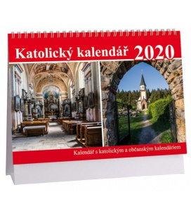 Table calendar Katolický kalendář 2020
