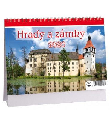 Table calendar Hrady a zámky 2020