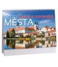 Table calendar Česká a moravská města 2020