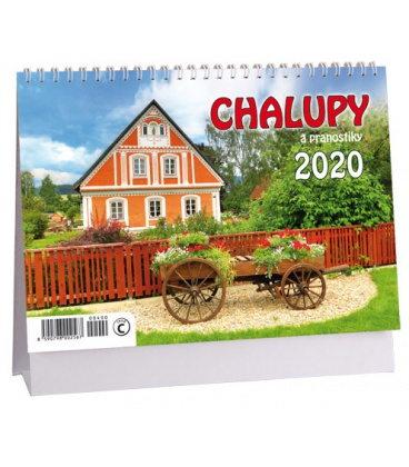Table calendar Chalupy a pranostiky 2020