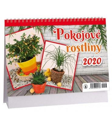 Table calendar Pokojové rostliny 2020