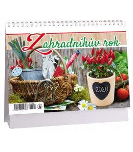 Table calendar Zahradníkův rok 2020