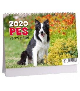 Table calendar Pes - věrný přítel 2020