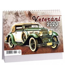 Table calendar Veteráni 2020