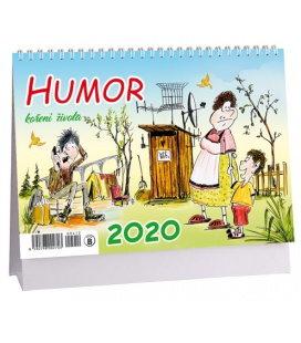 Table calendar Humor, koření života 2020