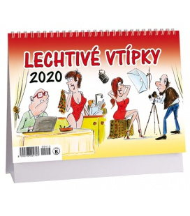 Table calendar Lechtivé vtípky 2020