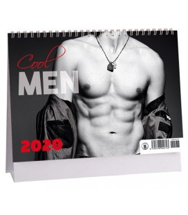 Table calendar Men 2020