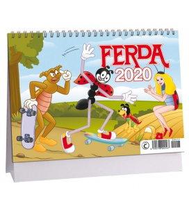 Table calendar Ferda 2020