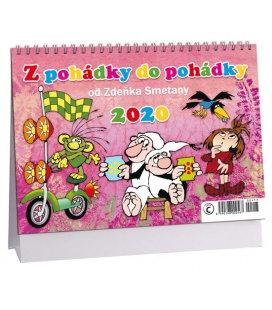 Table calendar Z pohádky do pohádky 2020