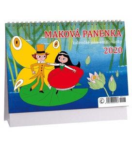 Table calendar Maková panenka 2020