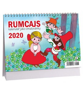 Table calendar Rumcajs 2020