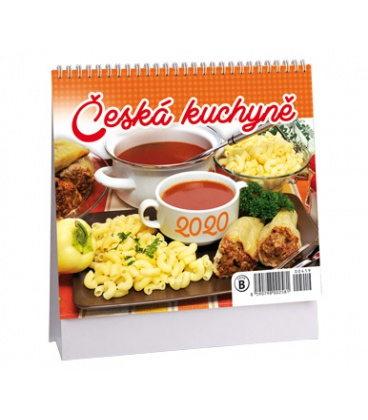 Table calendar Česká kuchyně - MINI 2020