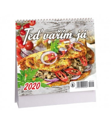 Table calendar Teď vařím já - MINI 2020