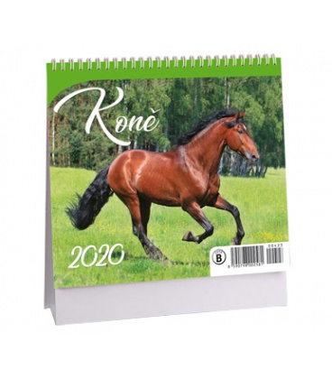 Table calendar Koně - MINI 2020