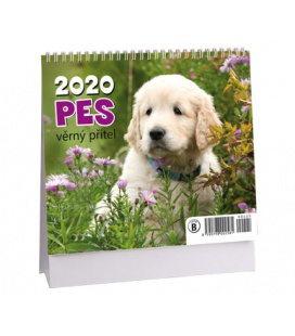 Table calendar Pes - věrný přítel - MINI 2020