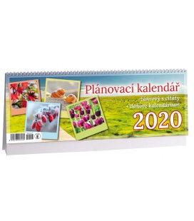 Table calendar Žánrový plánovací s citáty 2020