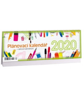 Table calendar Plánovací daňový 2020