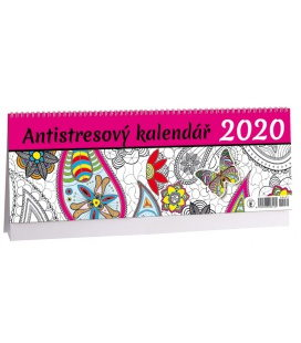 Table calendar Antistresový  2020