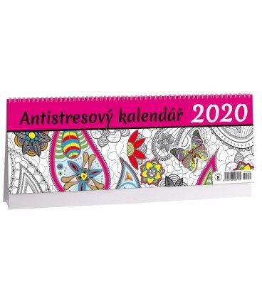 Table calendar Antistresový 2020