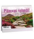 Table calendar Plánovací s citáty 2 - fialový 2020