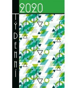 Pocket diary fortnightly lamino - Obrazce 2020