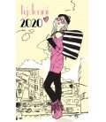 Pocket diary fortnightly lamino - Dáma 2020