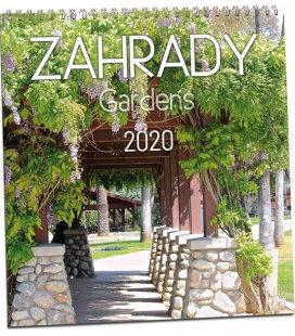 Wall calendar Zahrady 2020