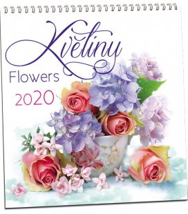 Wall calendar Květiny 2020