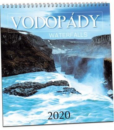 Wall calendar Vodopády 2020