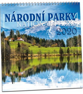 Wall calendar Národní parky 2020
