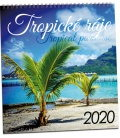 Wall calendar Tropické ráje 2020