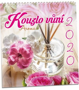 Wall calendar Kouzlo vůní 2020