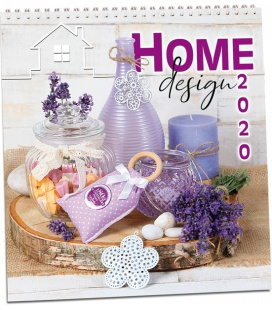Wall calendar Home design 2020