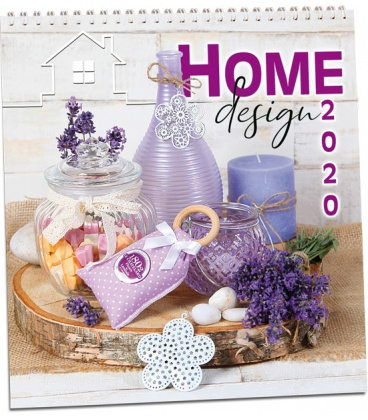 Wall calendar Home design 2020