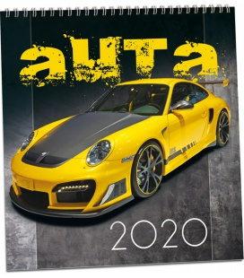 Wall calendar Auta 2020