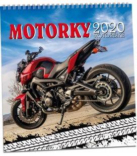 Wall calendar Motorky 2020