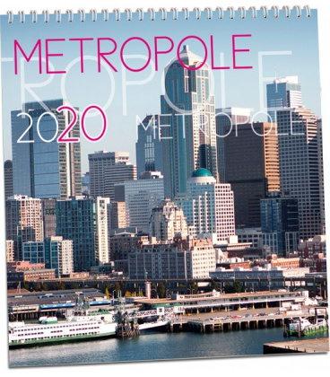 Wall calendar Metropole 2020