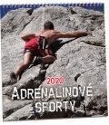 Wall calendar Adrenalinové sporty 2020