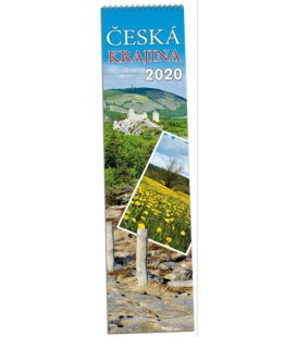 Wall calendar Česká krajina - vázanka 2020