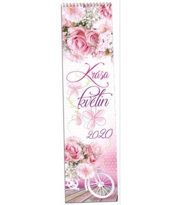 Wall calendar Květiny - vázanka 2020