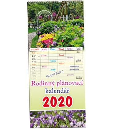 Wall calendar Family planing 1 / Rodinný plánovací 1 - Obrázky 2020