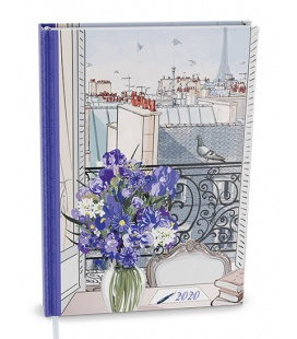 Daily Diary A5 - David - lamino - Paříž 2020