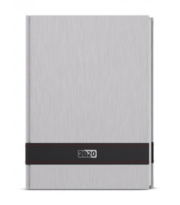 Daily Diary A5 - David - ForMen - Silver 2020