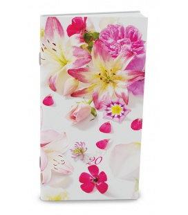 Monthly Pocket Diary - Halina - Květy 2020