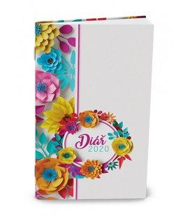 Monthly Pocket Diary - Marika - lamino - Květiny 2020